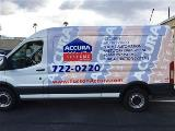 Accura Systems van with partial wrap
