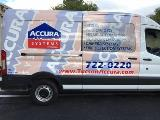 Accura Systems van right side graphics