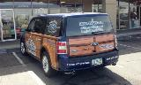Holmes Tuttle Ford woody wrap left and back sides 2