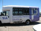 Tucson International Airport shuttle wrap