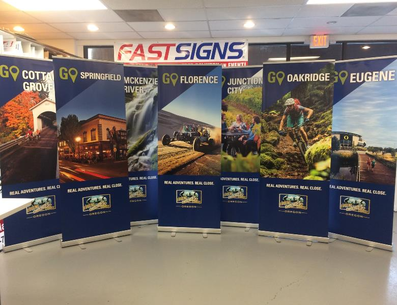 Banners for Eugene Cascades & Coast