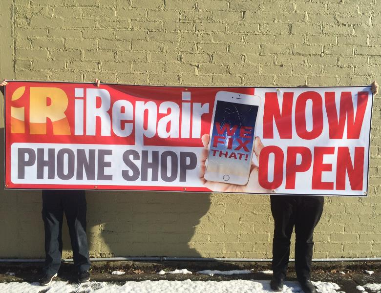 Large Banner for iRepair Phone Shop