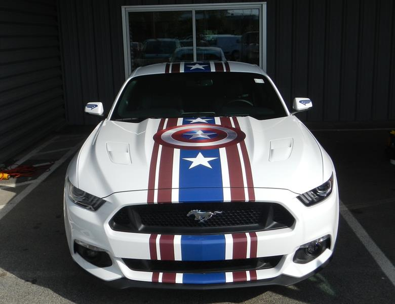 Ford Mustang Custom Vehicle Graphics