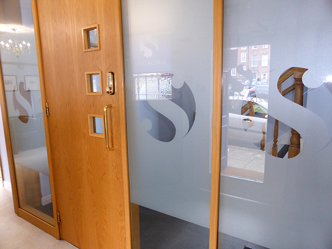 Indoor Etched Glass-UK