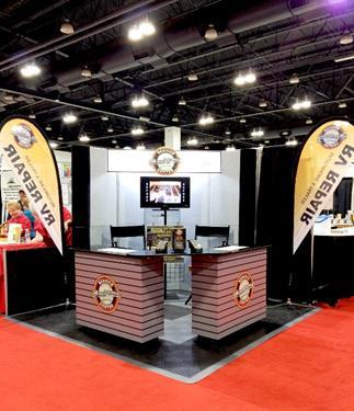 Led trade show displays