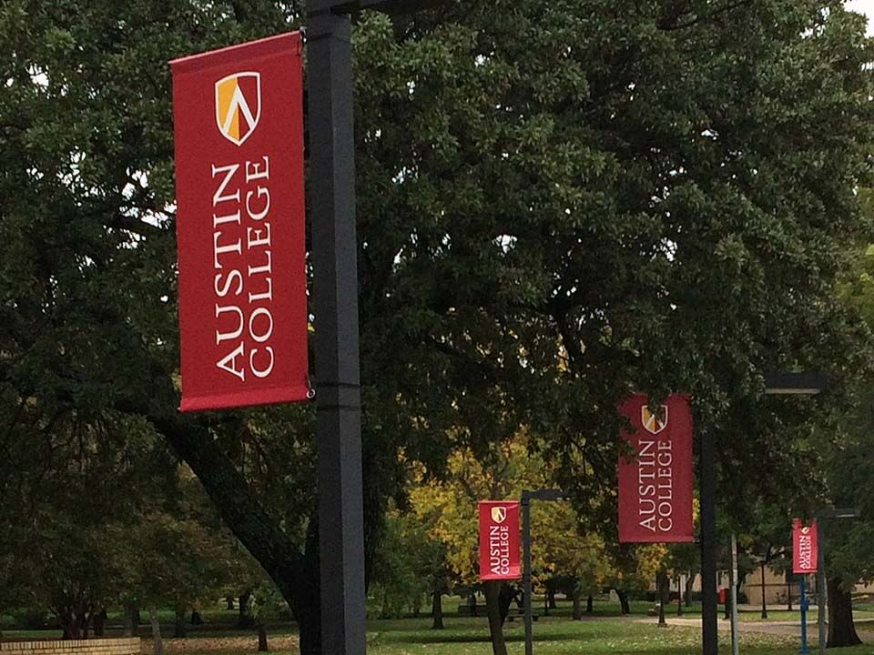 Austin College Banner Flags