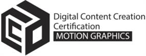 Digital Content Creation Certification - Motion Graphics