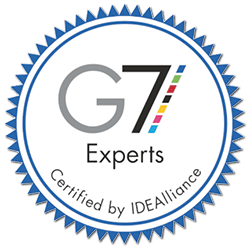 G7 Certified Expert on staff