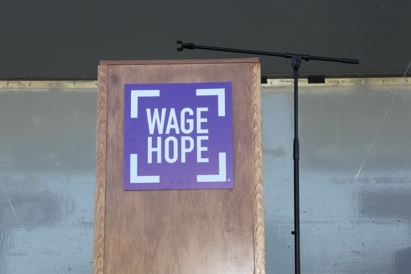 Pancreatic Cancer Action Network Podium Sign
