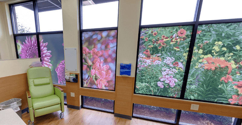 Hardin Memorial Hospital Decorative Window Graphics