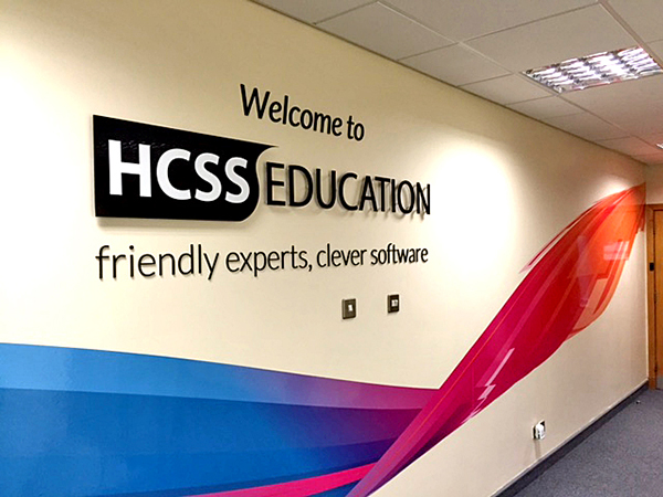 HCSS Dimensional Letters and Wall Graphics