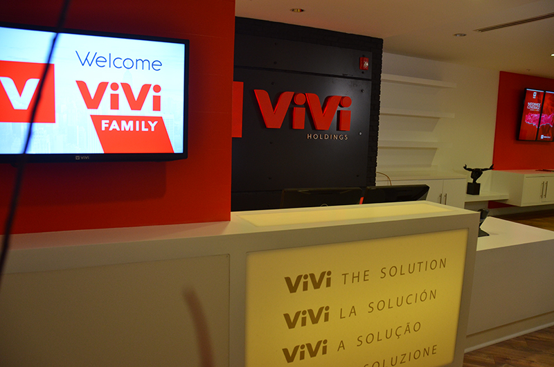 ViVi Holdings Digital Signage and Wall Letters