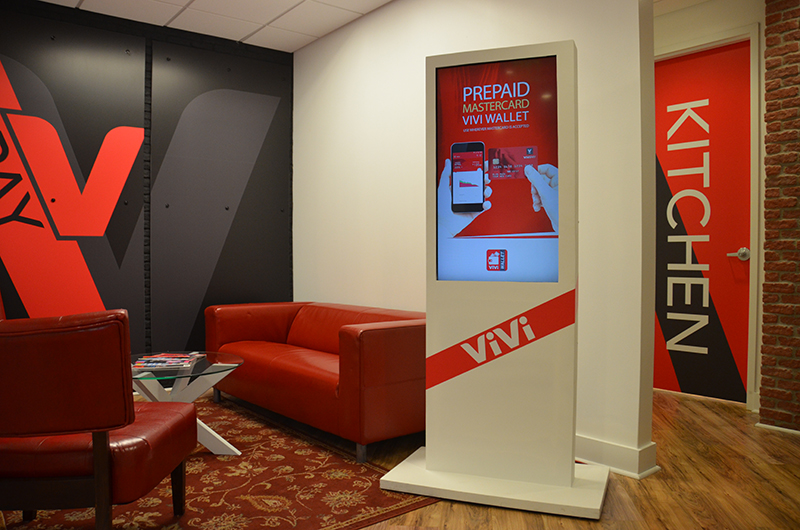 ViVi Holdings Digital Signage and Wall Graphics