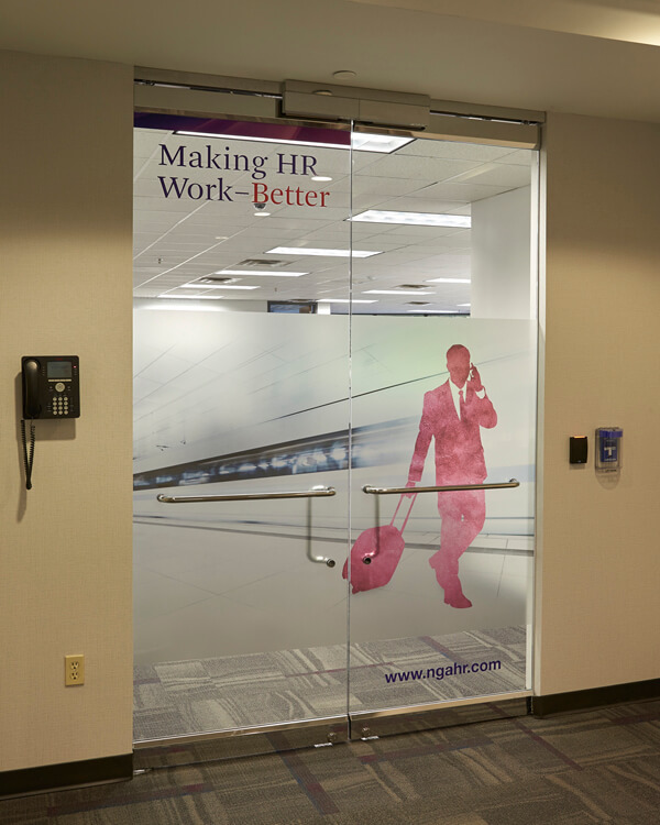 NGA Vinyl Window Graphics