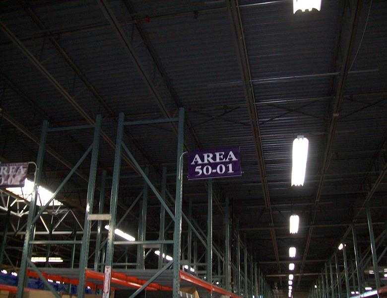 Warehouse Operational Signs